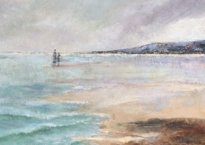Incoming Tide painting by Sally Williams