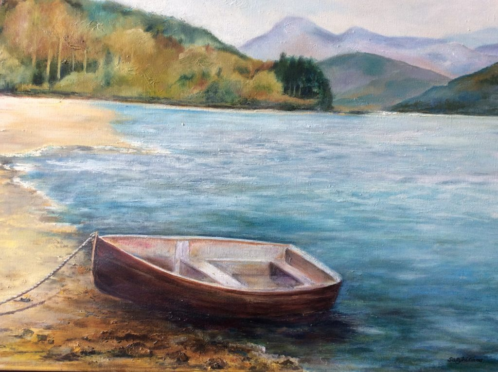 Ennerdale painting by Sally Williams