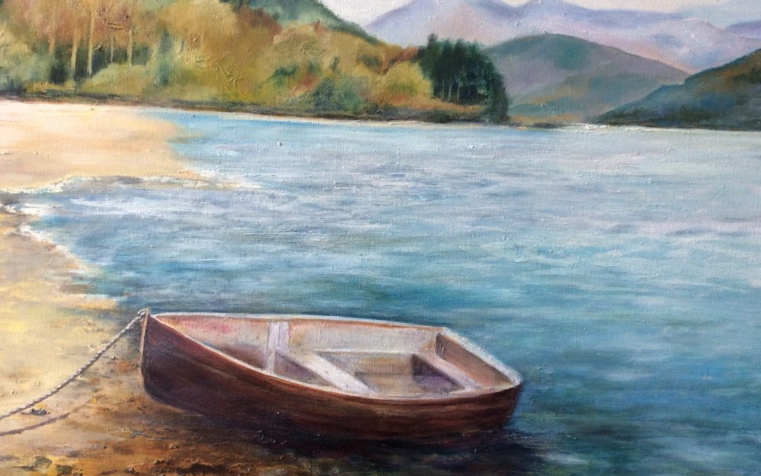NEW: Ennerdale, painting by Sally Williams