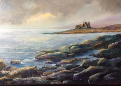 Evening light, Bamburgh