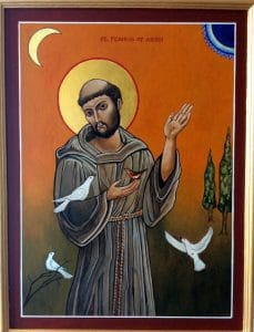 st-francis-icon-by-swilliamsartist