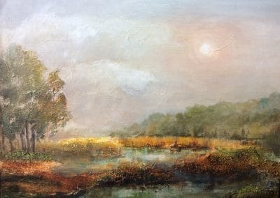 A Perfect Day painting by Sally Williams Oil on canvas, 50cm x 60cm